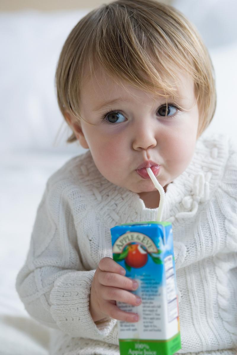Что делать если ребенок не пьет сок